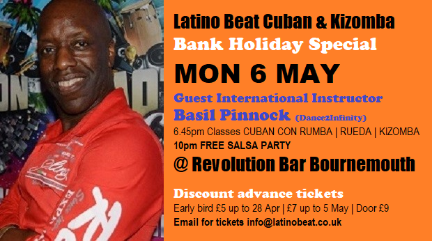 Bank Holiday Special Mon 6 May Event