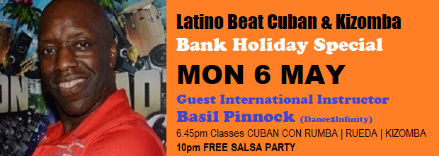 Bank Holiday Special Mon 6 May venue change cropped