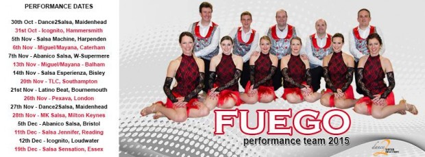 Basil's Show Team Fuego Nov 2015