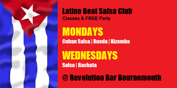 Latino Beat Facebook banner Mondays Nov 2018