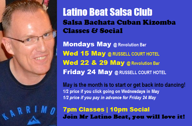 Latino Beat May 2019 Salsa