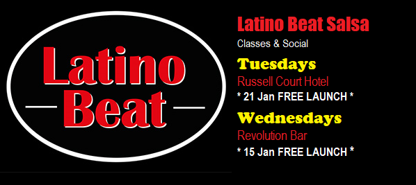 Latino Beat Salsa Jan 2020 Restarts