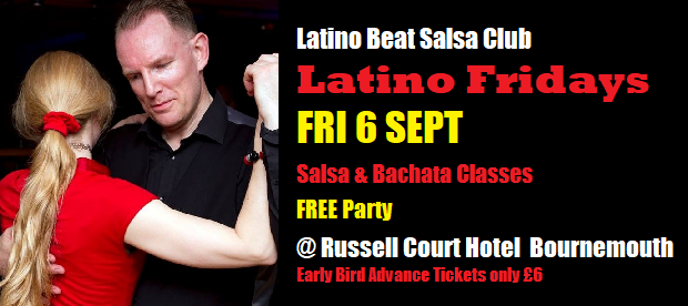 Latino Fridays Fri 6 Sept 2019