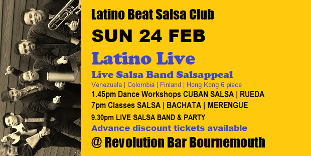 Latino Live Sun 24 Feb 2019