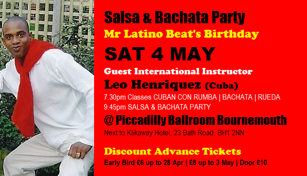 Mr Latino Beat's Birthday Sat 3 May 2019