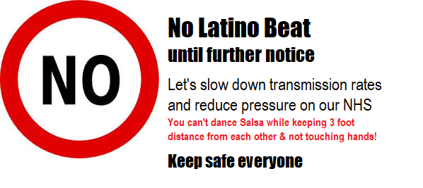 No Latino Beat until further notice