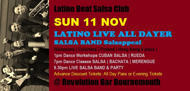 Salsa Band Salsappeal Nov